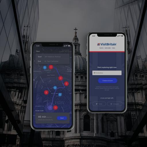 Visit Britan App